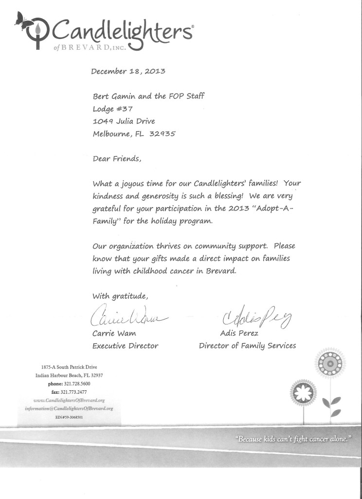 FOP 2014 Candlelighters letter 001